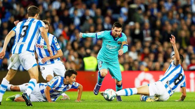 Реал Сосиедад срещу Барселона