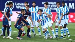 Реал Сосиедад завърши наравно с Леванте