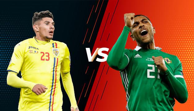 Румъния срещу Северна Ирландия