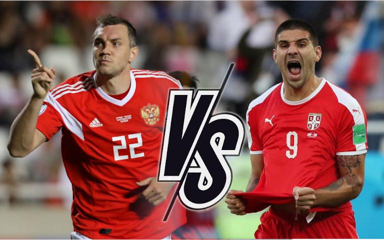 Русия срещу Сърбия