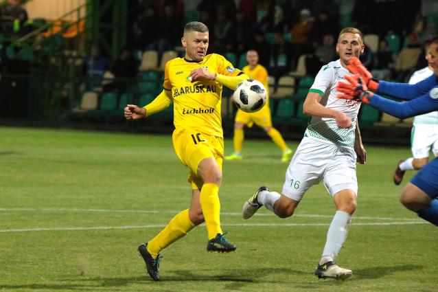 Шахтьор Солигорск срещу Динамо Брест