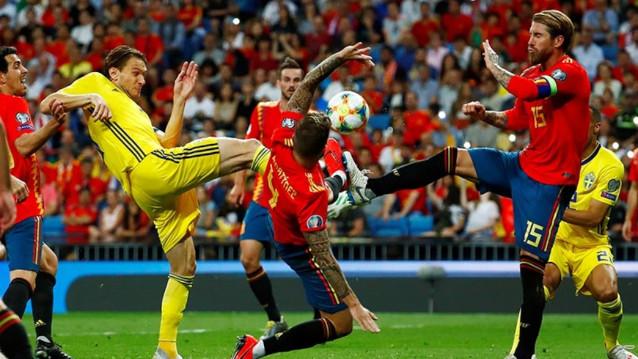 Швеция срещу Испания
