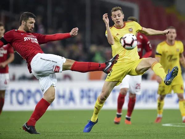 Спартак Москва срещу Арсенал Тула
