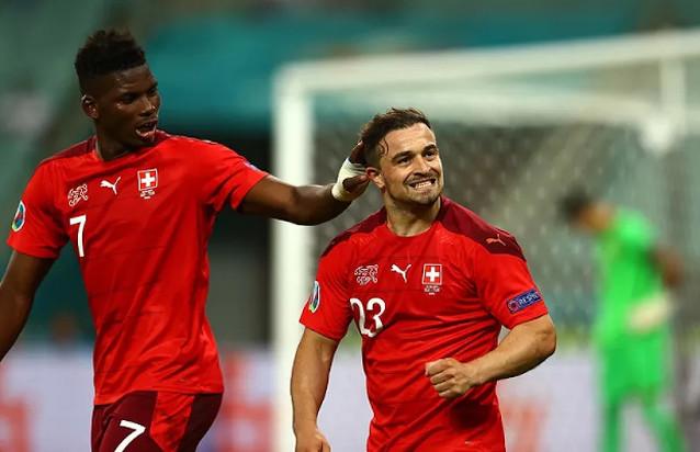 Франция срещу Швейцария