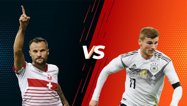 Швейцария срещу Германия