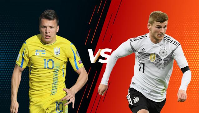 Украйна срещу Германия
