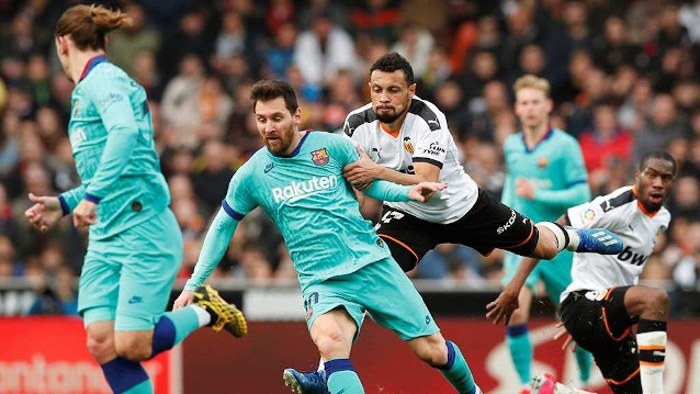 Валенсия срещу Барселона