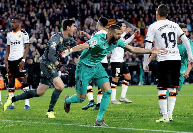 Валенсия срещу Реал Мадрид