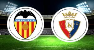 Прогноза: Валенсия - Осасуна 21-01-2021 - Примера Дивисион