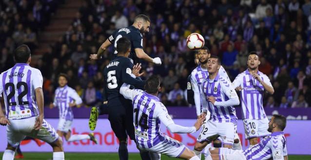 Валядолид срещу Реал Мадрид