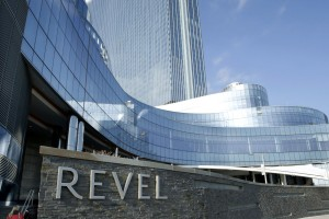 The Revel casino  is shown in a Thursday, Feb. 14, 2013 photo, in Atlantic City. Revel announced Tuesday, Feb. 19, 2013 that it will file for Chapter 11 bankruptcy protection in late March.  (AP Photo/Mel Evans)
