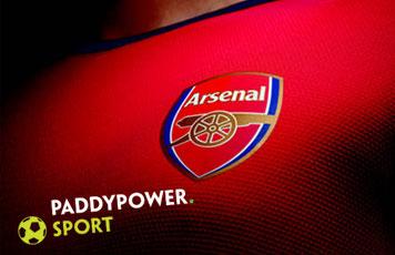 arsenal paddy power спонсорство